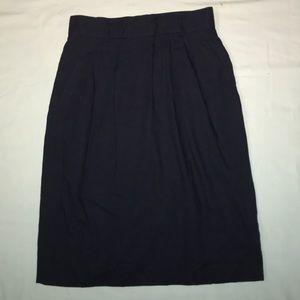 Dark Mid-Length Skirt NWOT